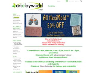 artclayworld.com screenshot