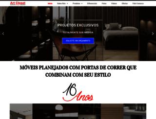 artcloset.com.br screenshot
