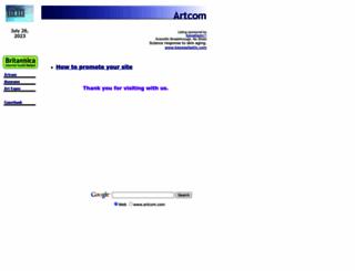 artcom.com screenshot