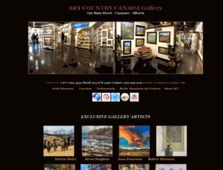 artcountrycanada.com screenshot