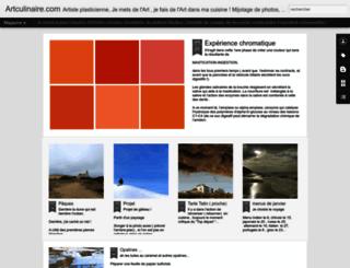 artculinaire.com screenshot