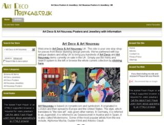 artdeconouveau.co.uk screenshot