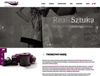 artdress.com.pl screenshot