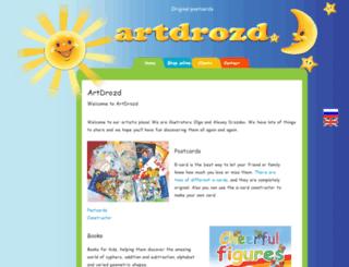 artdrozd.com screenshot