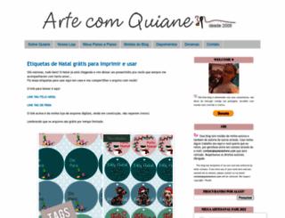 arte-com-quiane.blogspot.com screenshot