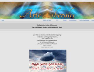 arte-liberalis.de screenshot