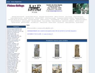artealpide.net screenshot