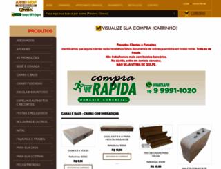 artecommadeira.com.br screenshot