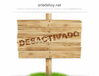 artedehoy.net screenshot