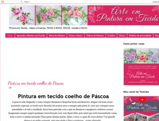 arteempinturaemtecido.blogspot.com screenshot