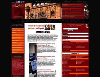 arteespana.com screenshot