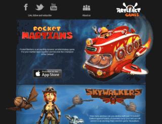 artefactgames.com screenshot