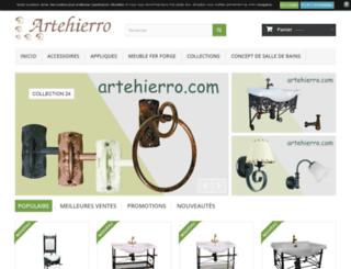 artehierro.fr screenshot