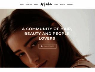 arteke.com.au screenshot