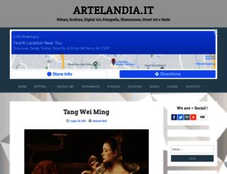 artelandia.it screenshot