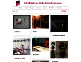 artelectronicmedia.com screenshot