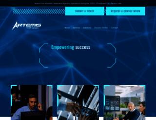 artemisit.com screenshot