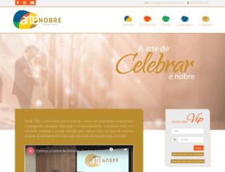 artenobreeventos.com.br screenshot