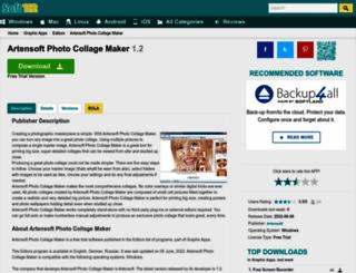 artensoft-photo-collage-maker.soft112.com screenshot