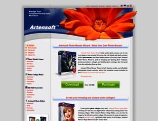 artensoft.com screenshot
