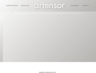 artensor.com.ar screenshot