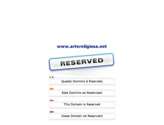 artereligiosa.net screenshot