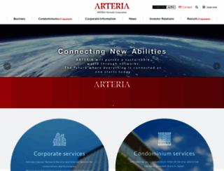 arteria-net.com screenshot