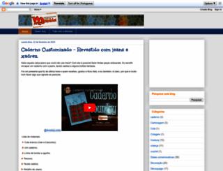 artesanatocomamemeia.com screenshot