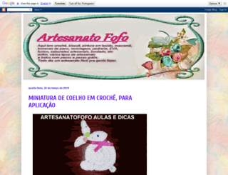artesanatofofo.blogspot.com screenshot