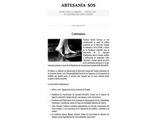 artesaniasos.wordpress.com screenshot