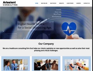 artesient.com screenshot