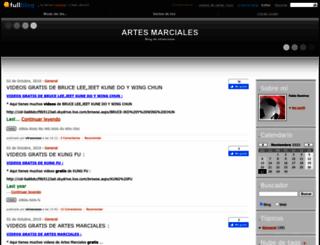 artesmarciales2000.fullblog.com.ar screenshot