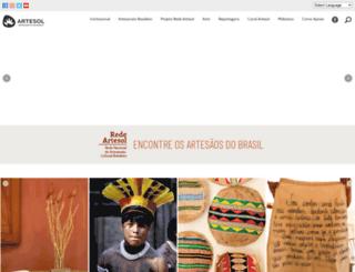 artesol.org.br screenshot