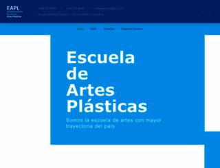 artesplasticas.ucr.ac.cr screenshot