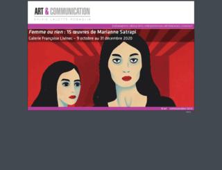 artetcommunication.fr screenshot