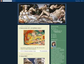 artetitalie.blogspot.com screenshot