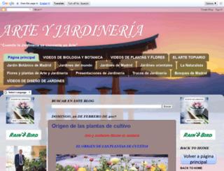 arteyjardineria.com screenshot