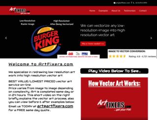 artfixers.com screenshot