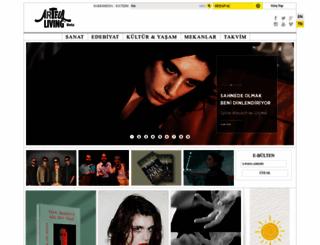 artfulliving.com.tr screenshot