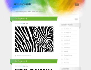 artfulsounds.com screenshot