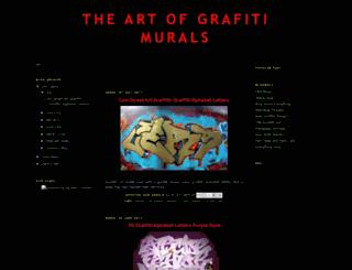 artgraffitimurals.blogspot.com screenshot