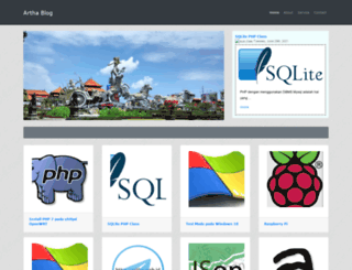 artha.web.id screenshot