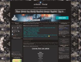arthexil.0forum.biz screenshot