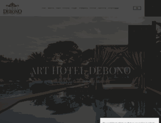 arthoteldebono.gr screenshot