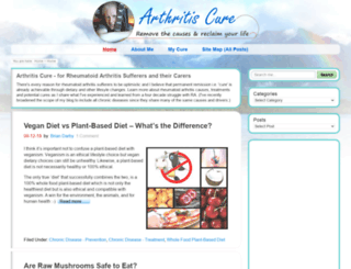 arthritis-cure.co.uk screenshot