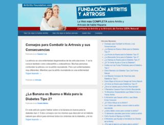 arthritis-foundation.com screenshot
