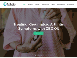 arthritisnetwork.ca screenshot