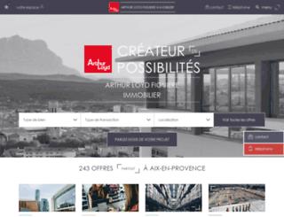 arthurloyd-provence.com screenshot