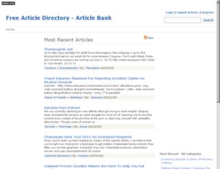 articlebank.in screenshot