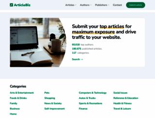 articlebiz.com screenshot